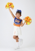 太陽のオレンジ色でハッピー♪CUTEなユニフォームでテンションUP!!