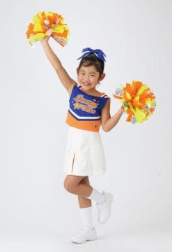 CV-47:太陽のオレンジ色でハッピー♪CUTEなユニフォームでテンションUP!!